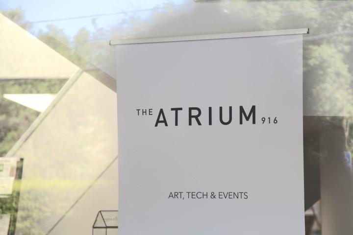 The Atrium 916 Events Banner