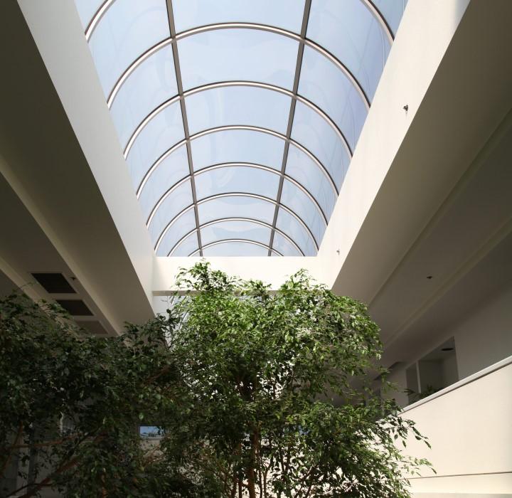 The Atrium 916 Huge Lobby Skylight