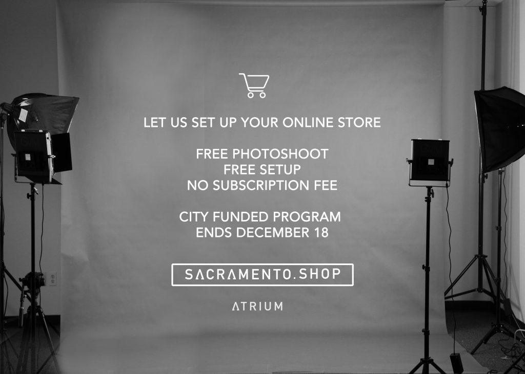 Sacramento.shop - city program for creatives