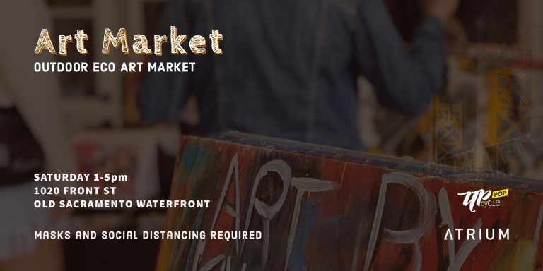 Saturday Art Market in Old Sacramento poster image